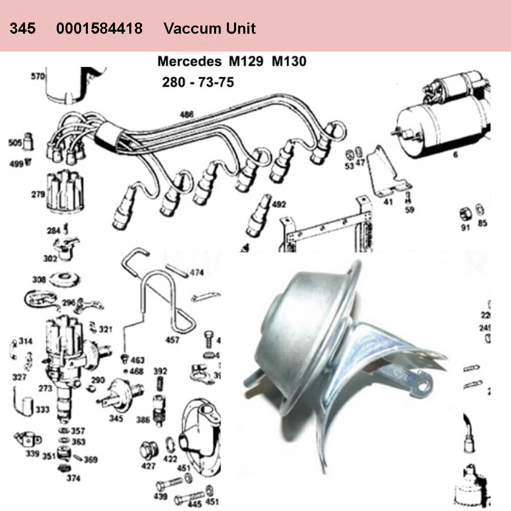 Lai Kam Wah Sdn. Bhd. Specialist in VW Aircooled Parts - 0001584418 - Vacuum Unit