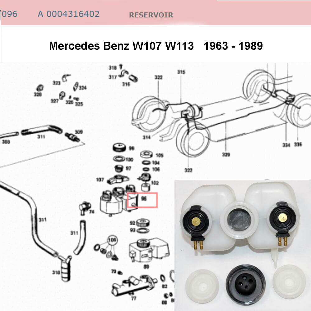 Lai Kam Wah Sdn. Bhd. Specialist in VW Aircooled Parts - 0004316402 - Reservoir