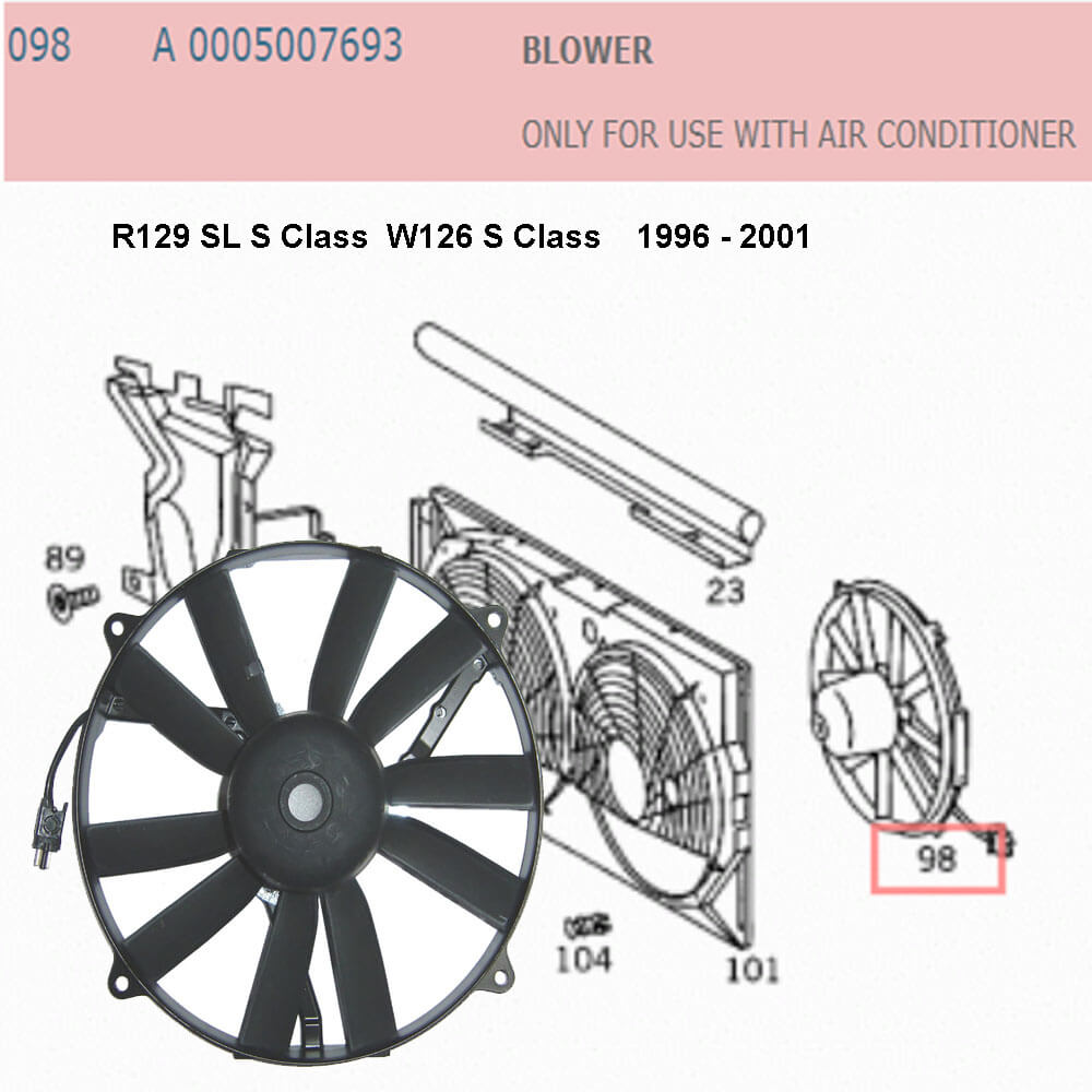 Lai Kam Wah Sdn. Bhd. Specialist in VW Aircooled Parts - 0005007693 - Blower