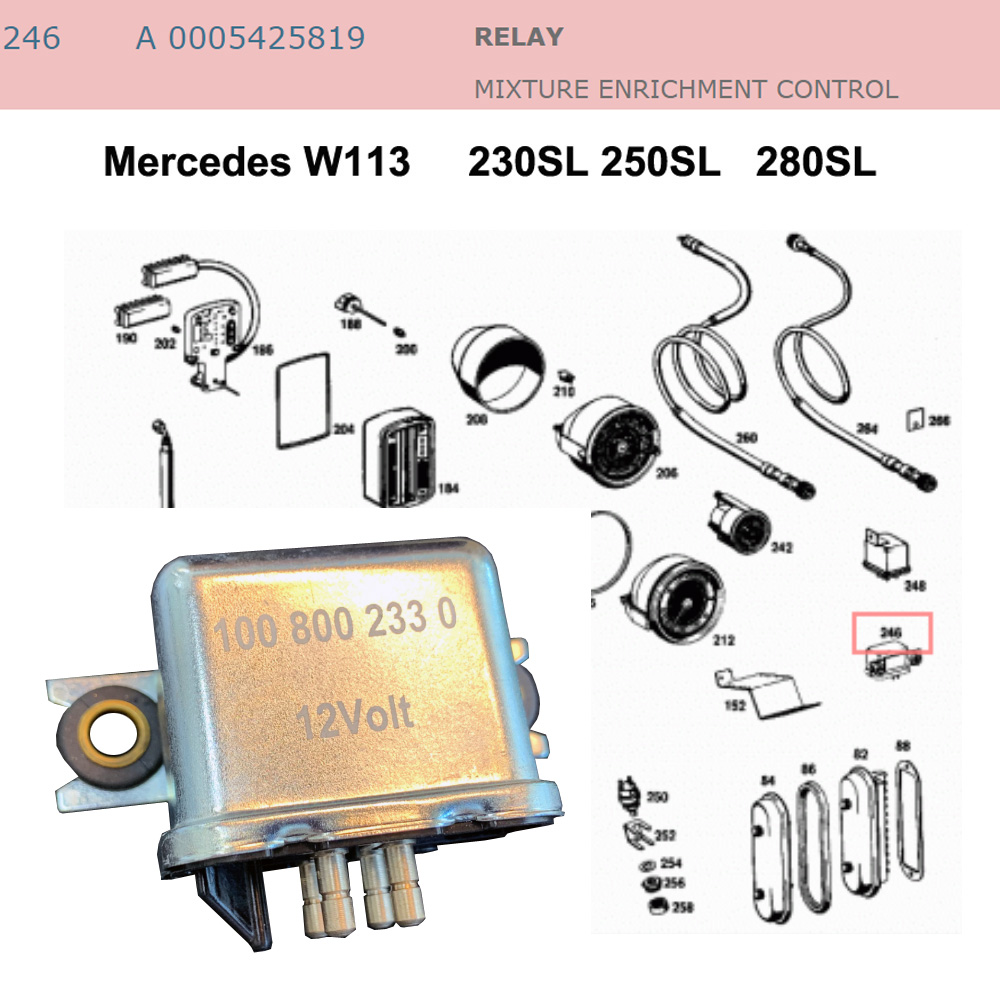 Lai Kam Wah Sdn. Bhd. Specialist in VW Aircooled Parts - 0005425819 - Relay