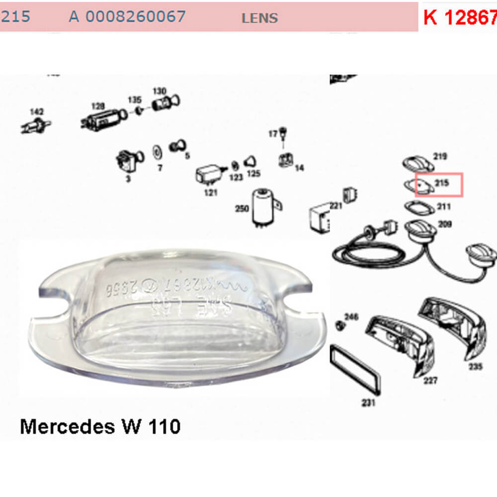 Lai Kam Wah Sdn. Bhd. Specialist in VW Aircooled Parts - 0008260067 - Lens