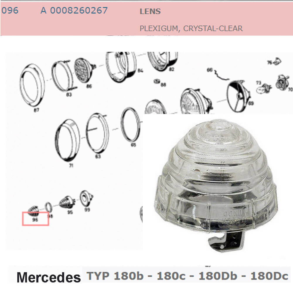 Lai Kam Wah Sdn. Bhd. Specialist in VW Aircooled Parts - 0008260267 - Lens