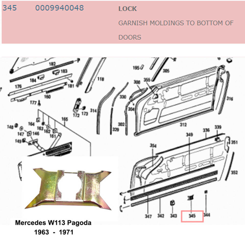 Lai Kam Wah Sdn. Bhd. Specialist in VW Aircooled Parts - 0009940048 - Lock