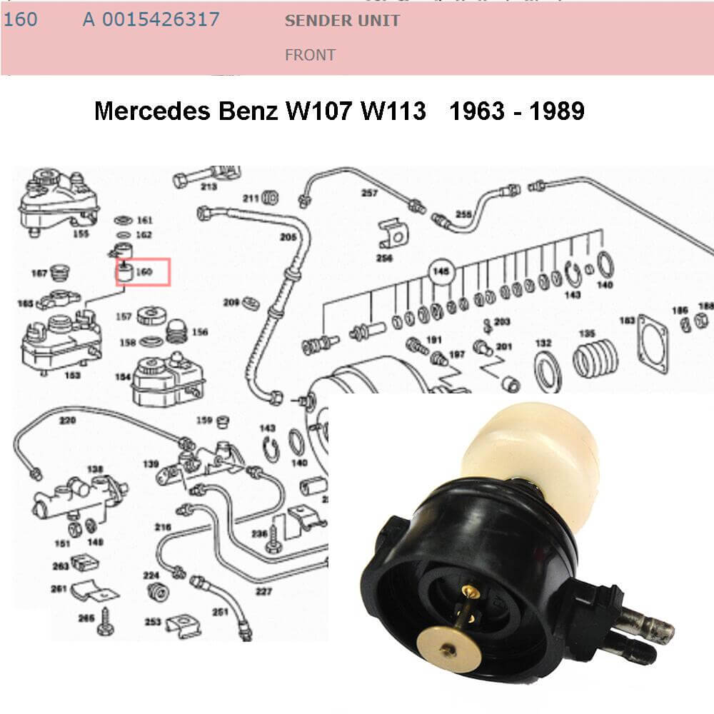 Lai Kam Wah Sdn. Bhd. Specialist in VW Aircooled Parts - 0015426317 - Sender Unit