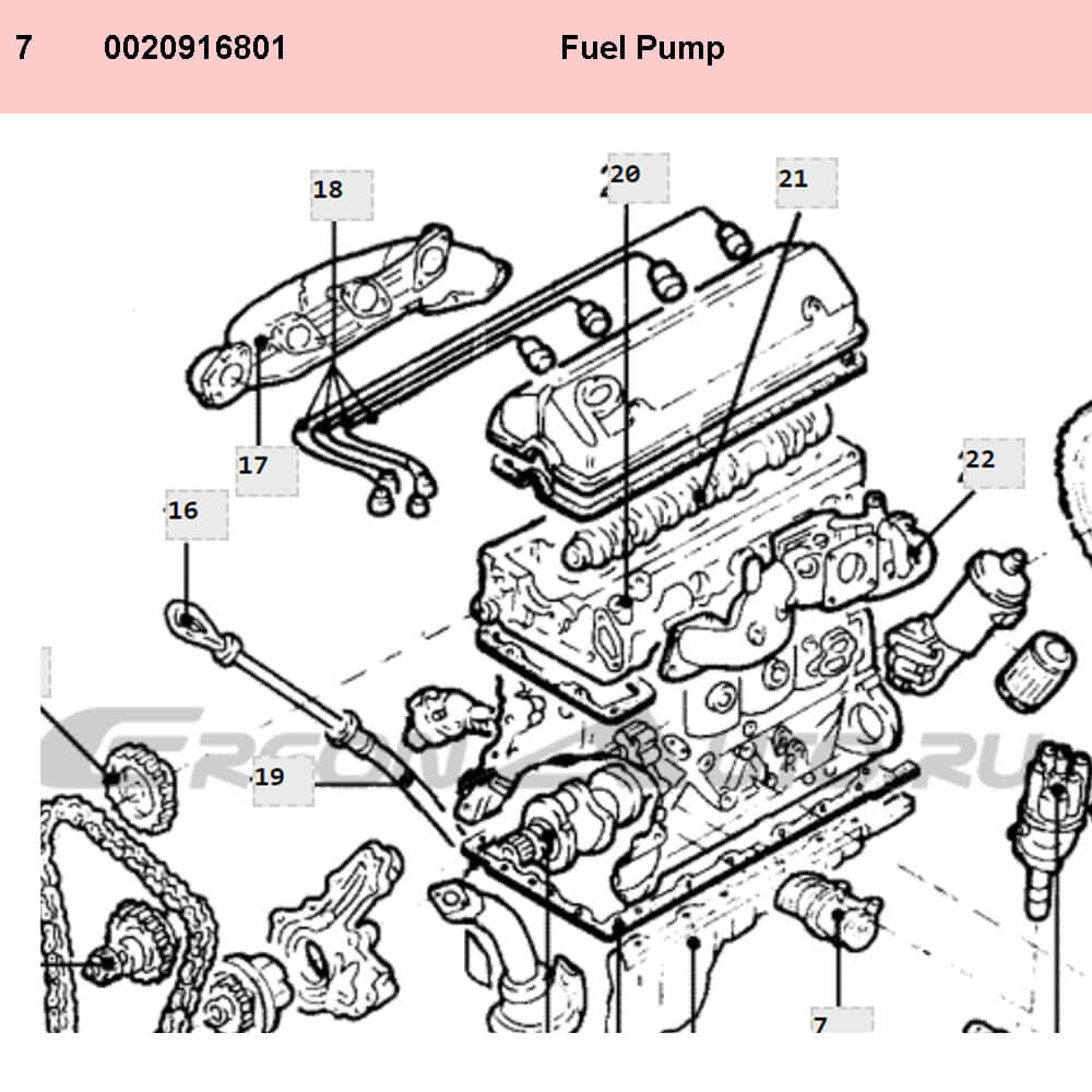 Lai Kam Wah Sdn. Bhd. Specialist in VW Aircooled Parts - 0020916801 - Fuel Pump