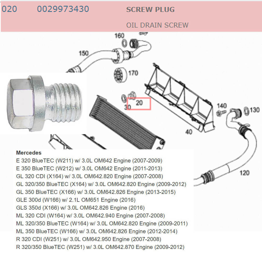 Lai Kam Wah Sdn. Bhd. Specialist in VW Aircooled Parts - 0029973430 - Screw Plug