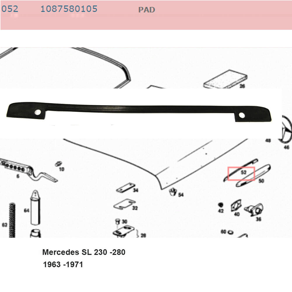 Lai Kam Wah Sdn. Bhd. Specialist in VW Aircooled Parts - 1087580105 - Pad