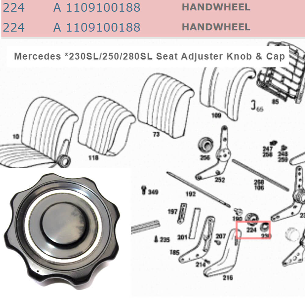 Lai Kam Wah Sdn. Bhd. Specialist in VW Aircooled Parts - 1109100188 - Handwheel