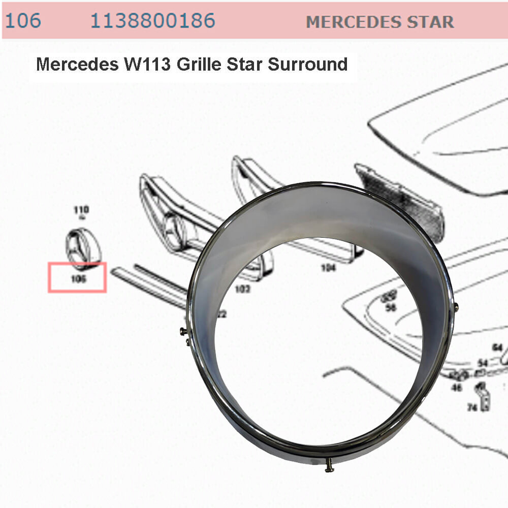 Lai Kam Wah Sdn. Bhd. Specialist in VW Aircooled Parts - 1138800186 - Mercedes Star