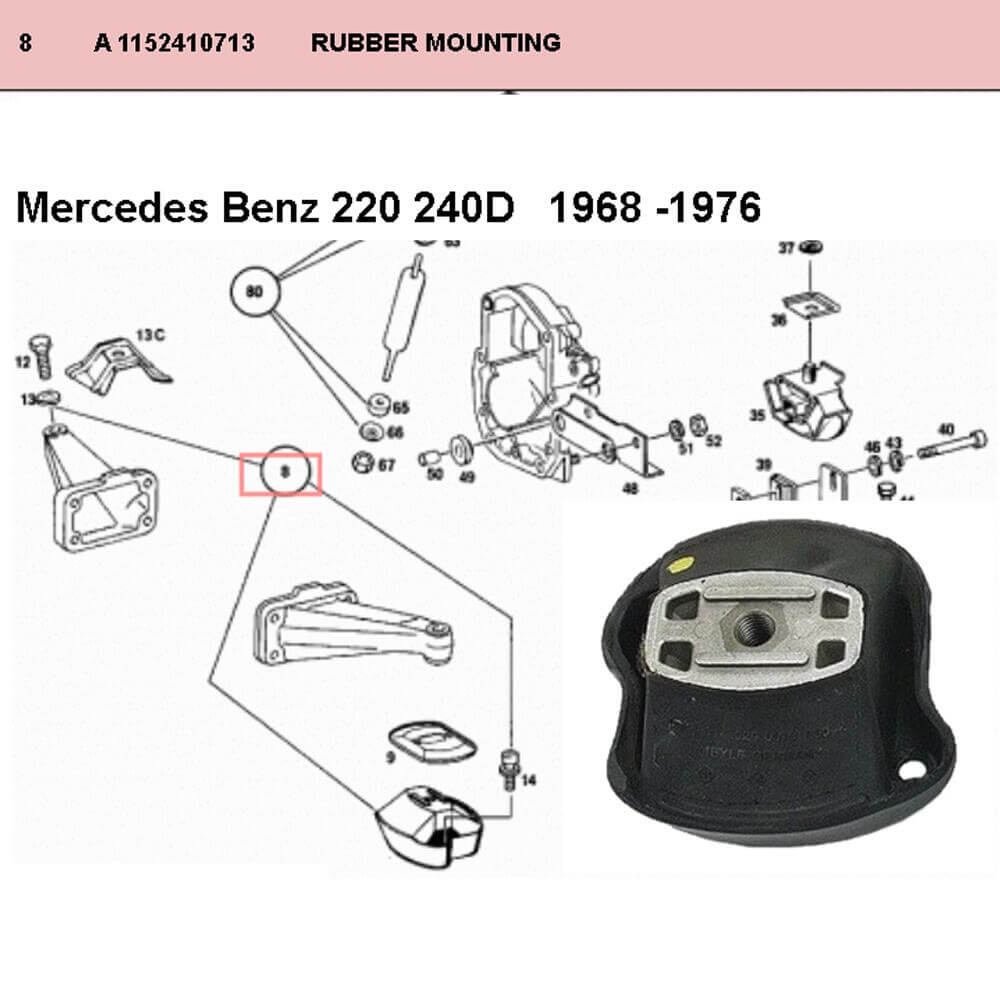 Lai Kam Wah Sdn. Bhd. Specialist in VW Aircooled Parts - 1152410713 - Motor Bracket