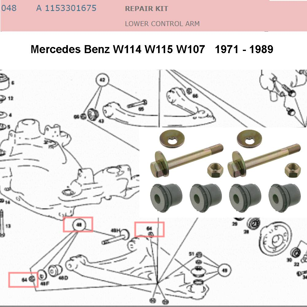 Lai Kam Wah Sdn. Bhd. Specialist in VW Aircooled Parts - 1153301675 - Control Arm Bushing Kit