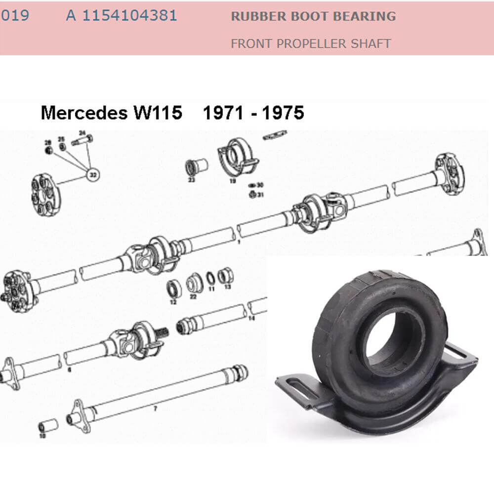 Lai Kam Wah Sdn. Bhd. Specialist in VW Aircooled Parts - 1154104381 - Rubber Boot Bearing