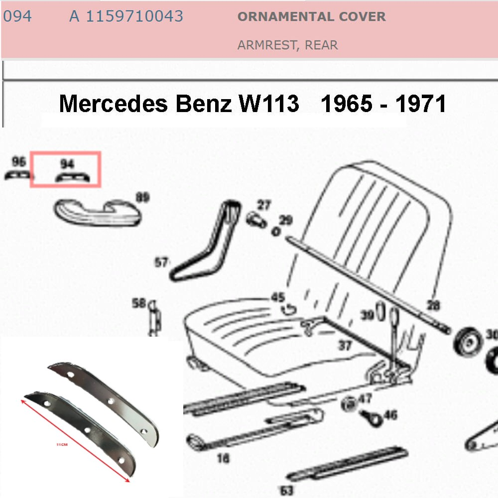 Lai Kam Wah Sdn. Bhd. Specialist in VW Aircooled Parts - 1159710043 - Ornamental Cover