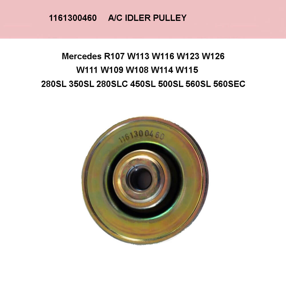 Lai Kam Wah Sdn. Bhd. Specialist in VW Aircooled Parts - 1161300460 - Idler Pulley