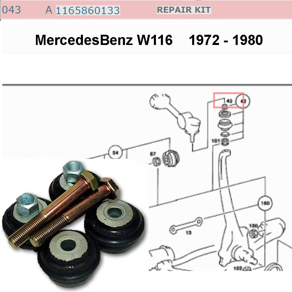 Lai Kam Wah Sdn. Bhd. Specialist in VW Aircooled Parts - 1165860133 - Repair Kit