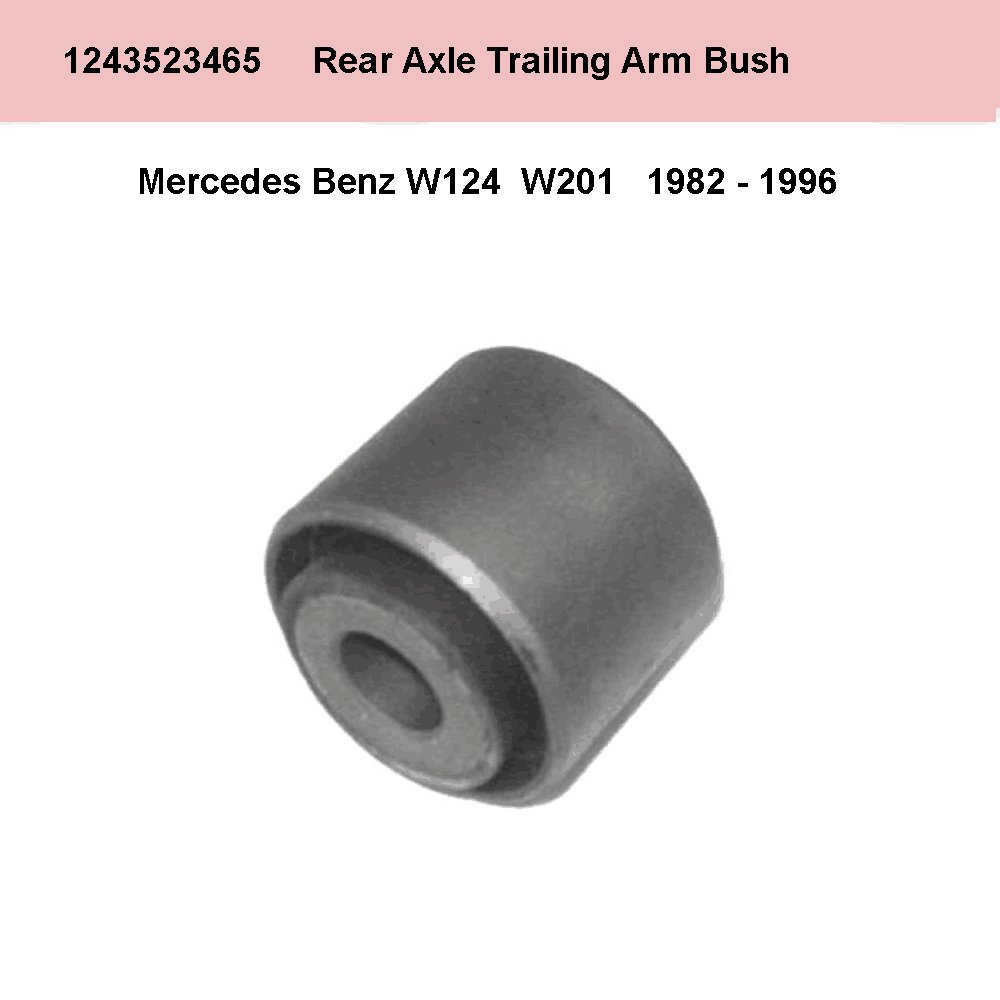 Lai Kam Wah Sdn. Bhd. Specialist in VW Aircooled Parts - 1243523465 - Rear Axle Trailing Arm Bush