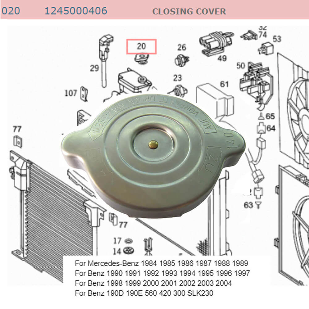 Lai Kam Wah Sdn. Bhd. Specialist in VW Aircooled Parts - 1245000406 - Closing Cover