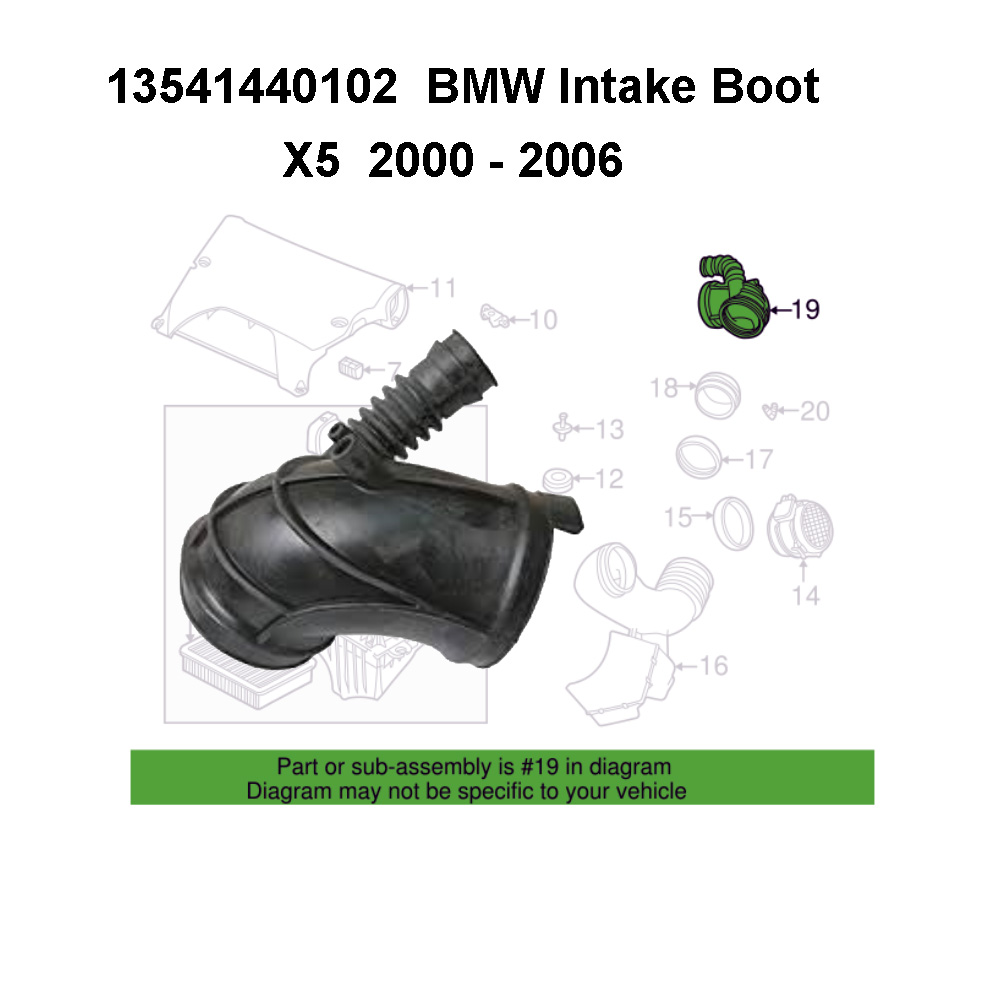 Lai Kam Wah Sdn. Bhd. Specialist in VW Aircooled Parts - 13541440102 - Intake Boot