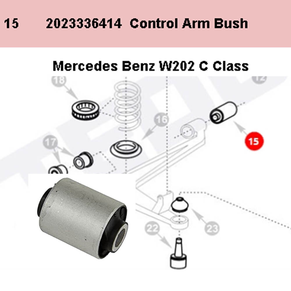 Lai Kam Wah Sdn. Bhd. Specialist in VW Aircooled Parts - 2023336414 - Rubber Mount