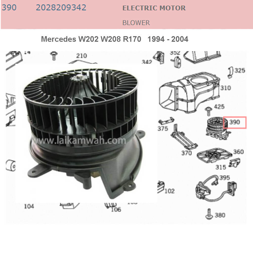 Lai Kam Wah Sdn. Bhd. Specialist in VW Aircooled Parts - 2028209342 - Electric Motor