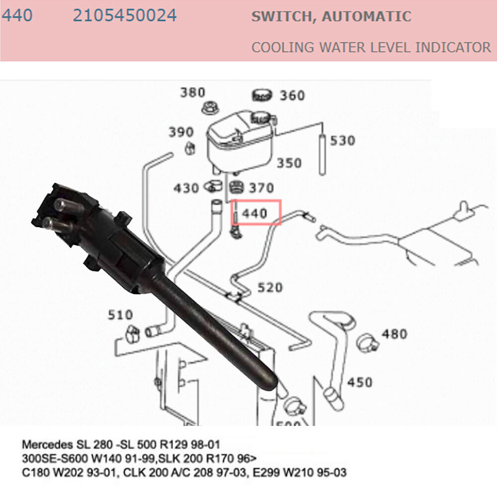 Lai Kam Wah Sdn. Bhd. Specialist in VW Aircooled Parts - 2105450024 - Switch Automatic