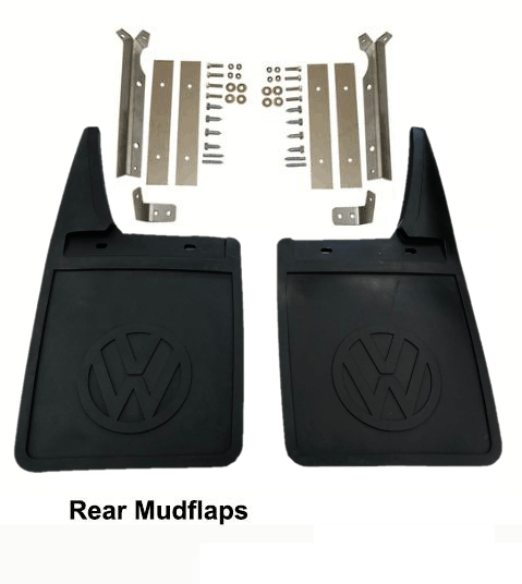 Lai Kam Wah Sdn. Bhd. Specialist in VW Aircooled Parts - 251821811A-812A - Mud Flap With Bracket Set - Rear