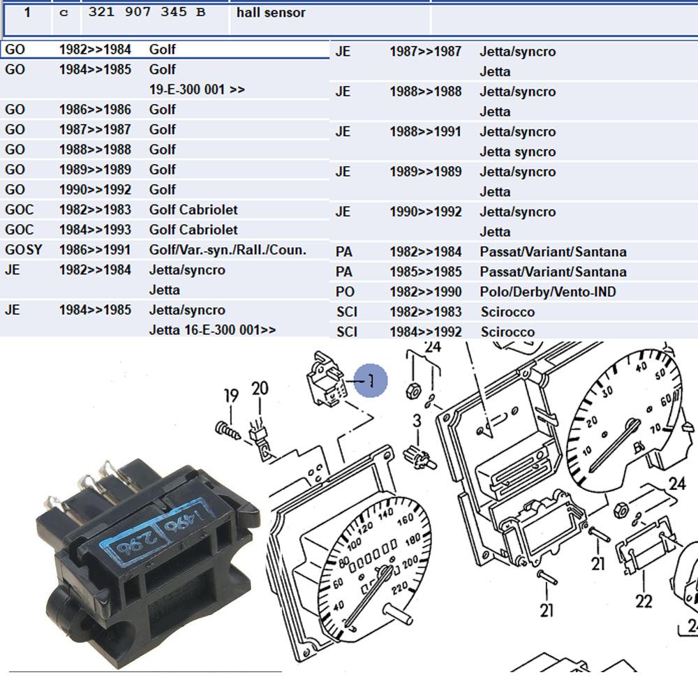 B543709123 - Hall Sensor