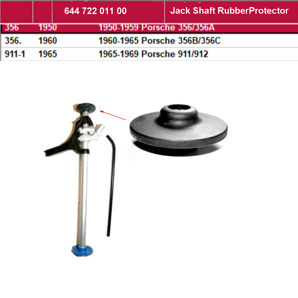 Lai Kam Wah Sdn. Bhd. Specialist in VW Aircooled Parts - 64472201100 - Jack Shaft Rubber Protector