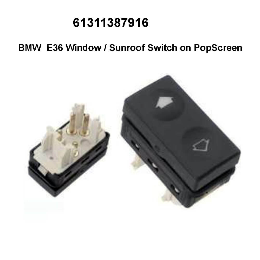 Lai Kam Wah Sdn. Bhd. Specialist in VW Aircooled Parts - 61311387916 - Window Regulator Switch