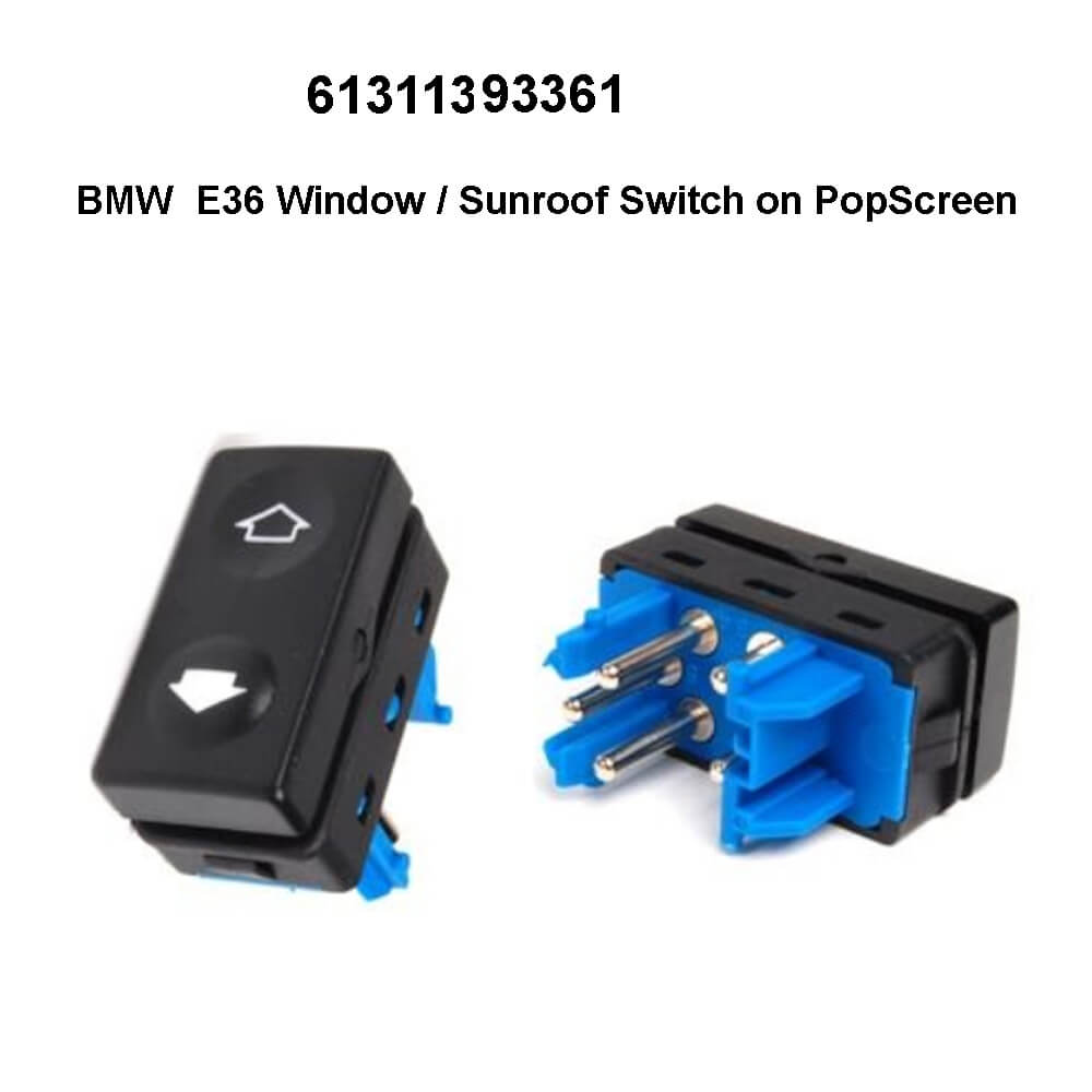 Lai Kam Wah Sdn. Bhd. Specialist in VW Aircooled Parts - 61311393361 - Window Regulator Switch