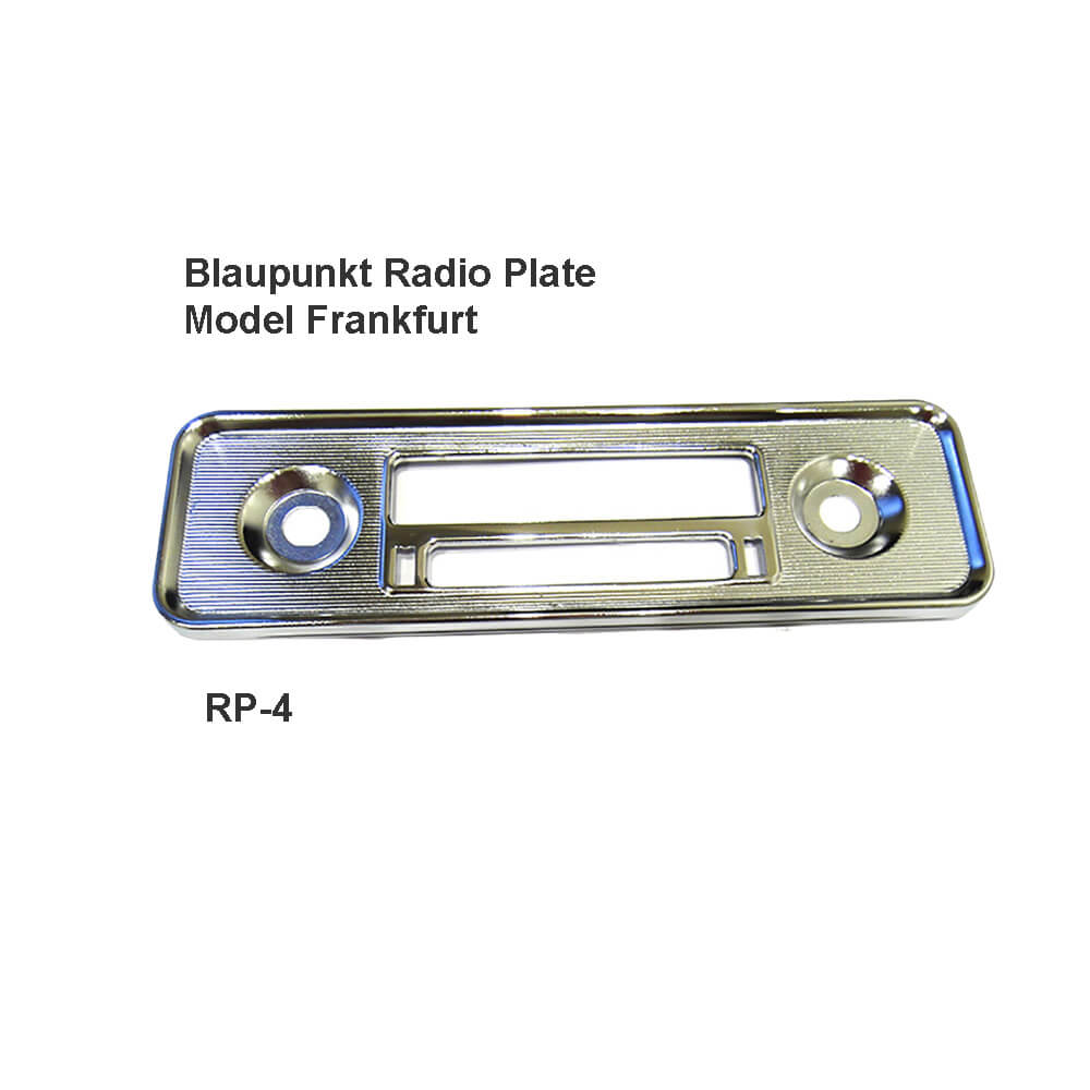 Lai Kam Wah Sdn. Bhd. Specialist in VW Aircooled Parts - Rp-4 - Blaupunkt Radio Plate