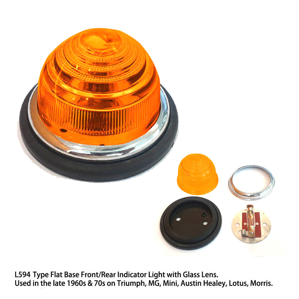 Lai Kam Wah Sdn. Bhd. Specialist in VW Aircooled Parts - L594-4 - Glass Lens