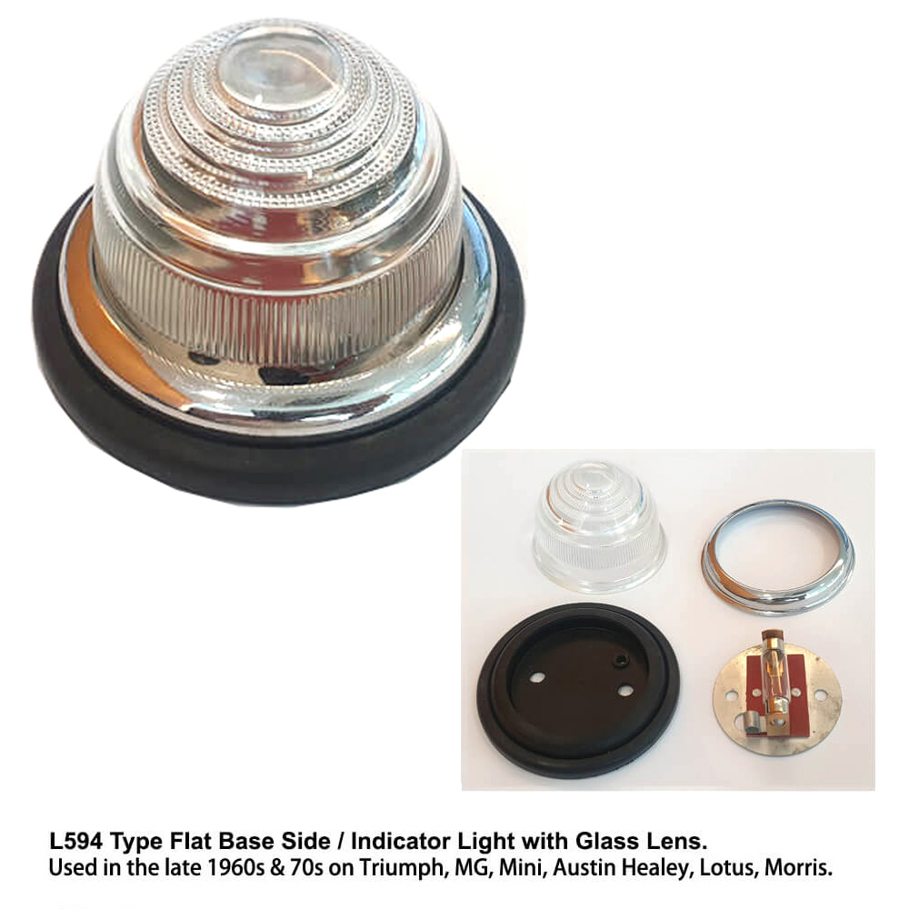 Lai Kam Wah Sdn. Bhd. Specialist in VW Aircooled Parts - L594-5 - Glass Lens