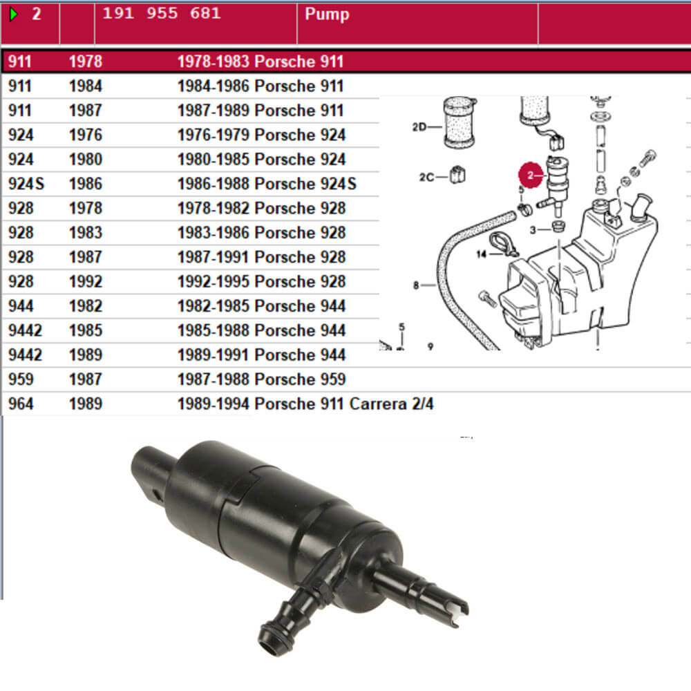Lai Kam Wah Sdn. Bhd. Specialist in VW Aircooled Parts - 191955681 - Pump