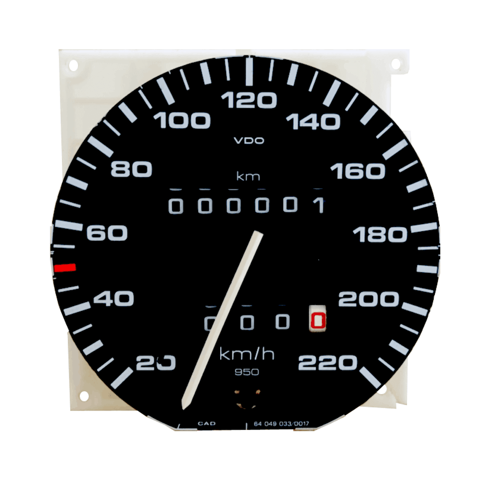 Lai Kam Wah Sdn. Bhd. Specialist in VW Aircooled Parts - 191957031L - Speedometer Without Kilometre Trip Recorder