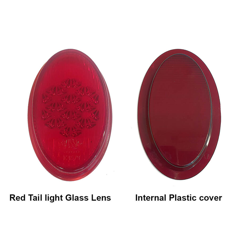 Lai Kam Wah Sdn. Bhd. Specialist in VW Aircooled Parts - 111945231 - Red Tail Light Glass Lens