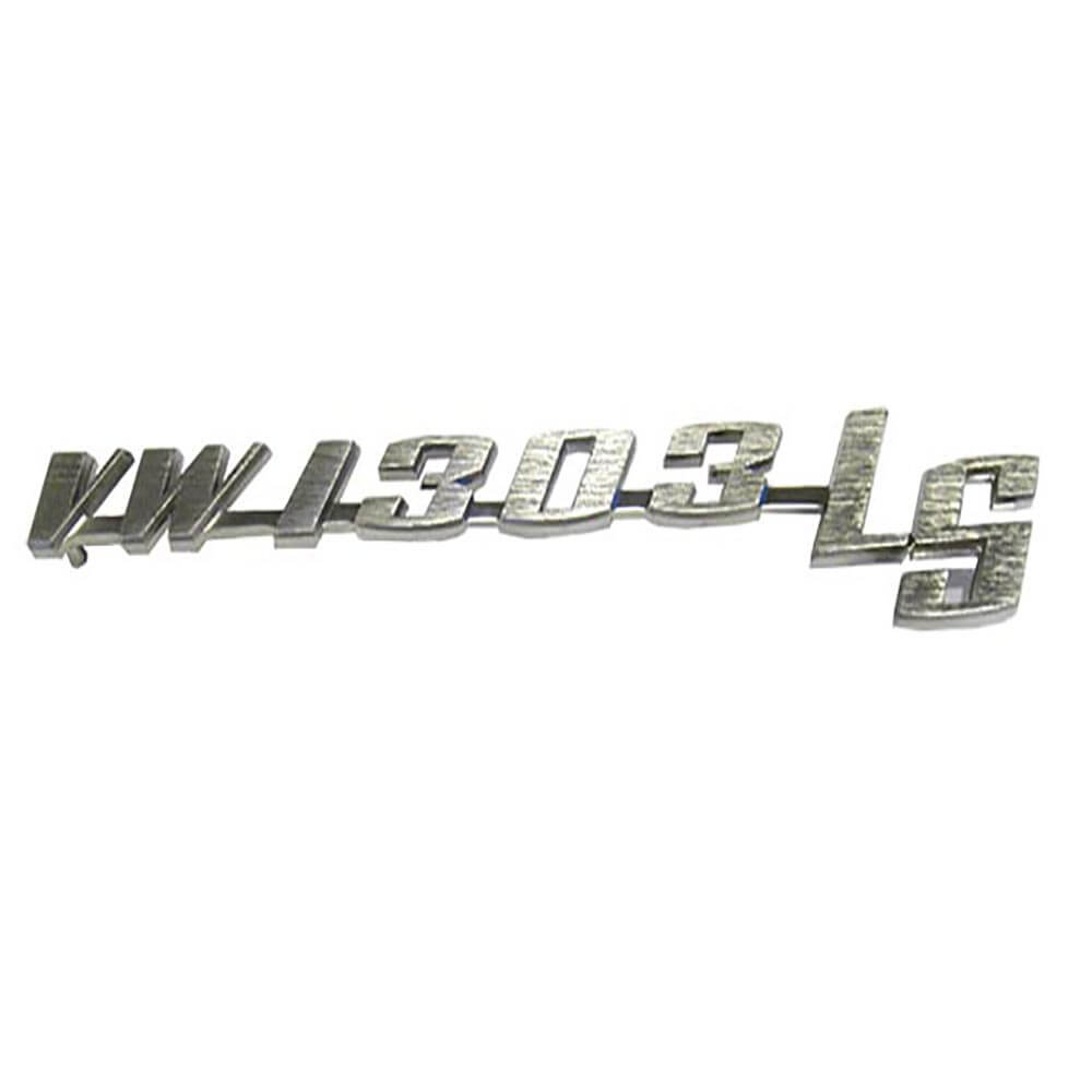 Lai Kam Wah Sdn. Bhd. Specialist in VW Aircooled Parts - 135853687C - VW 1303 LS Script Emblem