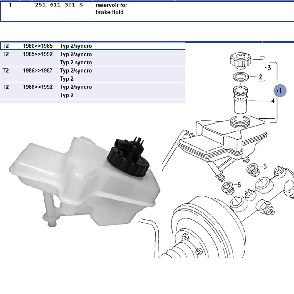 S103116152 - RESERVOIR FOR BRAKE FLUID