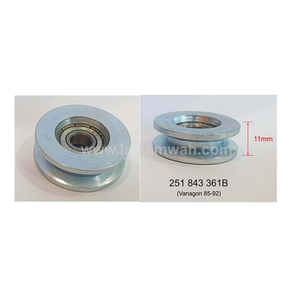 Lai Kam Wah Sdn. Bhd. Specialist in VW Aircooled Parts - 251843361B - Sliding Door Roller with Bearing