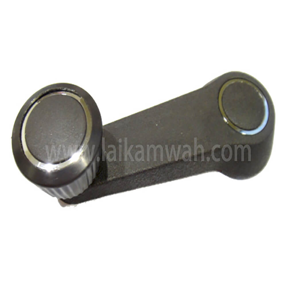 Lai Kam Wah Sdn. Bhd. Specialist in VW Aircooled Parts - 321837581A-90V - Window Crank (Brown with Chrome Ring)